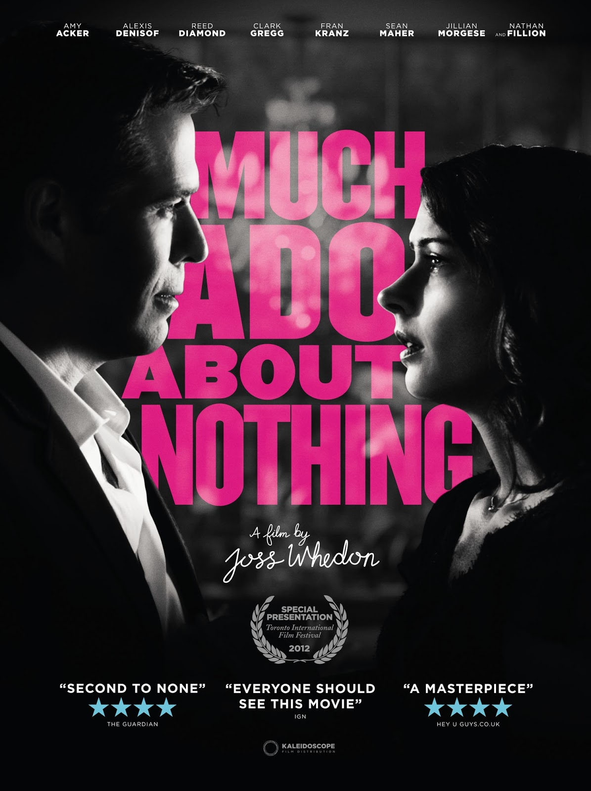 reading journal much ado about nothing a film by joss whedon