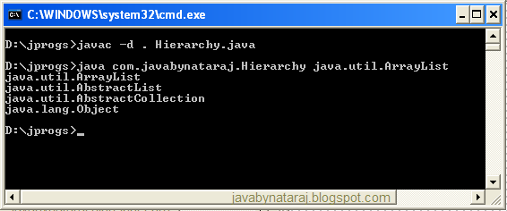 What is Reflection in java_javabynataraj_006