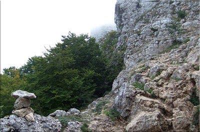 Paso rocoso hacia el Potillo de Atau