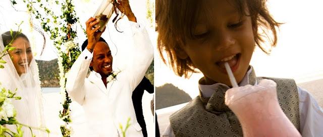 kid enjoying cocktail
