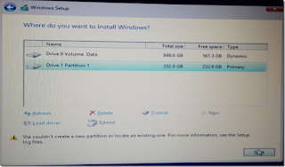 how to create partition in windows 7 while installing