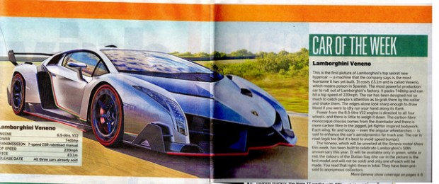 LEAKED: Pictures Of $4.6 Million Lamborghini So Exclusive Onlt Three People Will Own It