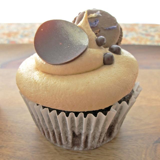 Chocolate Caramel Cupcake via Fine Motor Skills