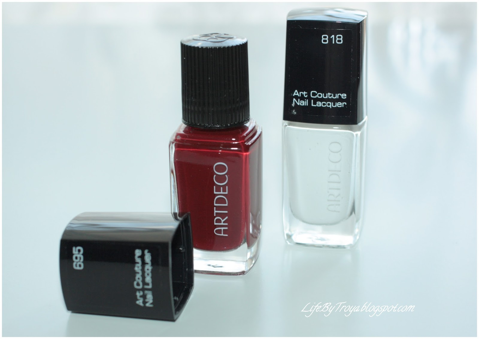 Couture art artdeco nail lacquer summer collection forecasting to wear for spring in 2019