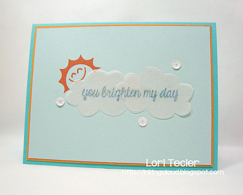 You Brighten My Day-designed by Lori Tecler-Inking Aloud-stamps from Lawn Fawn