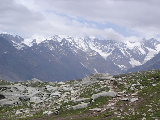 Manali Hills Snow Covered