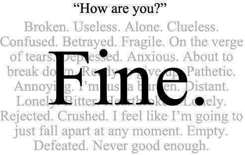 When A Woman Says Fine She Really Means