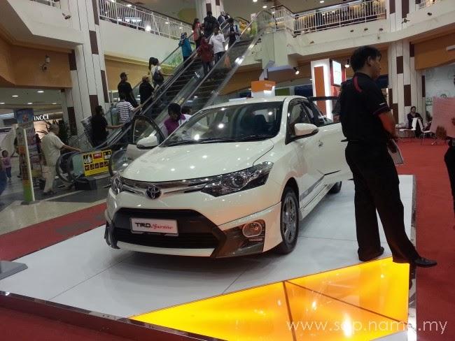 Toyota Vios baharu yang menawan