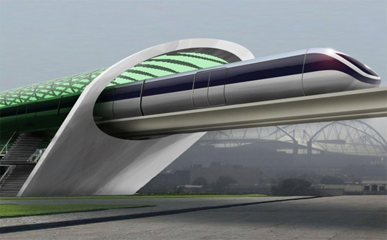 Elon Musk Hyperloop idea
