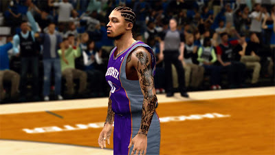 NBA 2K13 Michael Beasley Player Update Mod