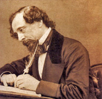 author Charles Dickons