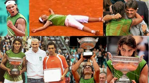 Mariano Puerta, Rafa Nadal, Roland Garros 2005