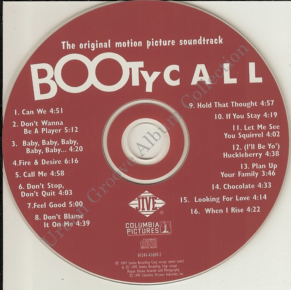 Various - Booty Call (Music From The Motion Picture)