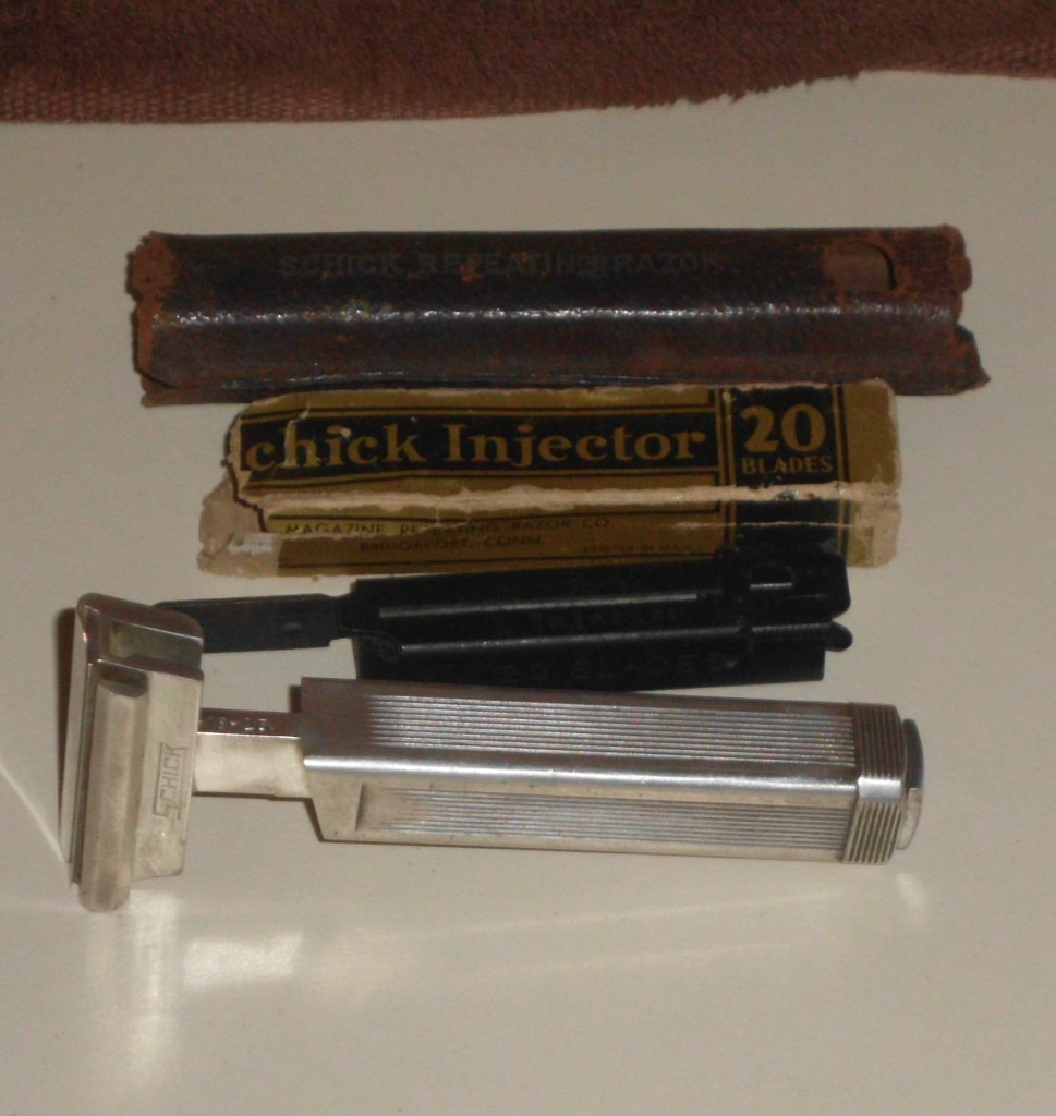 RICHARDS RAZORS: 1927-1932 Schick Type B1 Magazine ...