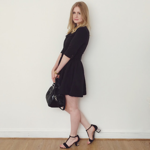 Military tailored style is all the rage for SS15 and this is my favourite smart dress pick from ASOS.