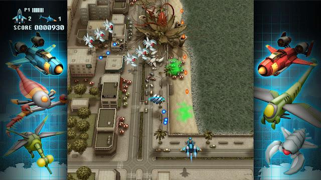 Dispara a esos marcianitos en FullBlast para Wii U