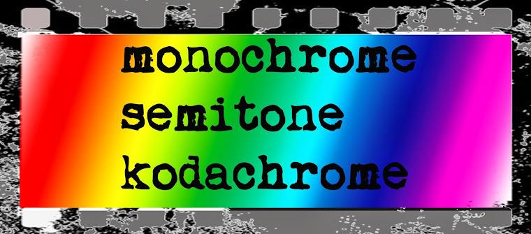 monochrome semitone kodachrome