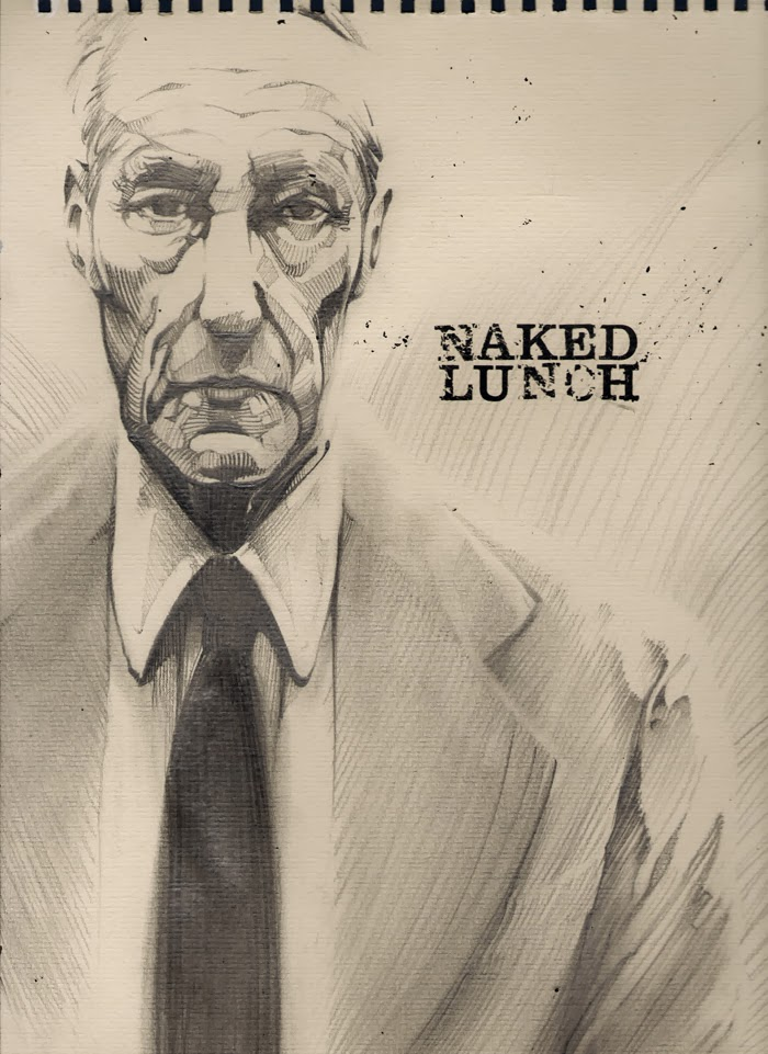 William S. Burroughs by Regis Lagoeyte