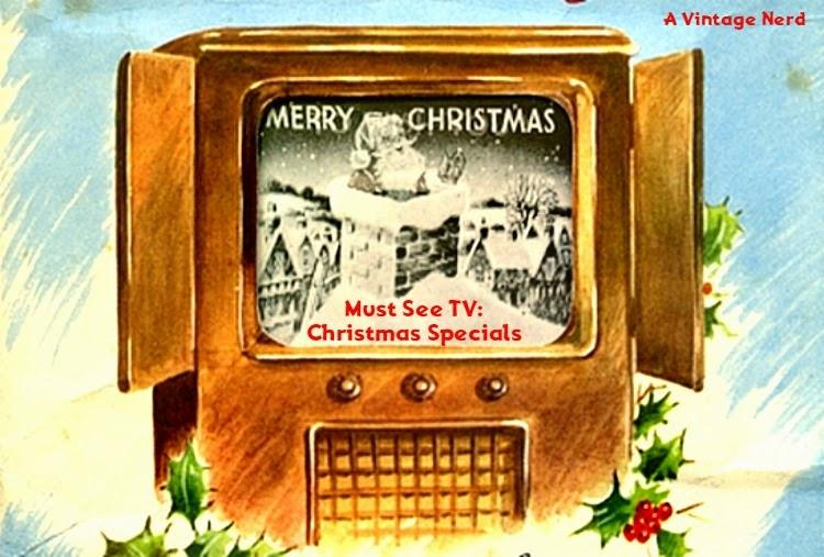 A Vintage Nerd, Vintage Blog, Classic Film Blog, Old Hollywood Blog, Vintage Christmas Specials, Classic TV Shows