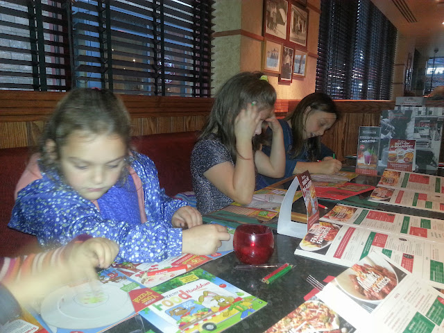 Eating out in Carmarthen Frankie and Benny's