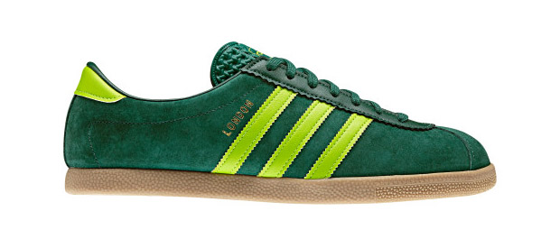 Adidas Originals London Dark Green/Slime