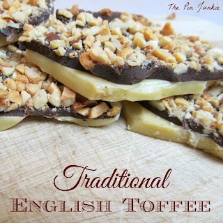 english toffee no candy thermometer