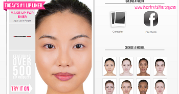 Modiface: The Ultimate Virtual Makeover ~ I (HEART) Retail Therapy