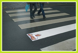 Exemple de street marketing