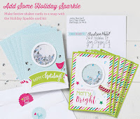 Holiday Sparkle Card Kit