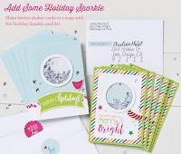 Holiday Sparkle Card Kit