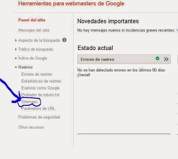 Google Sitemaps: Cambiando Impresiones Digitales