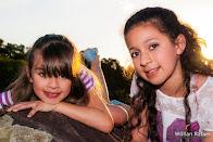 Isabella e Ana Clara