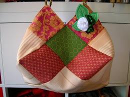 Bolso cuadrados tapiceria