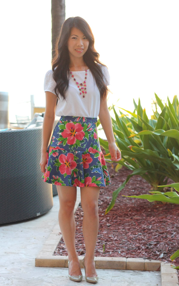 All About Fashion Stuff Tropical Outfit + Food