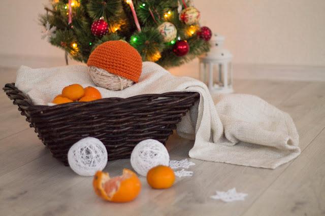 шапочка для фотосессии новорожденного