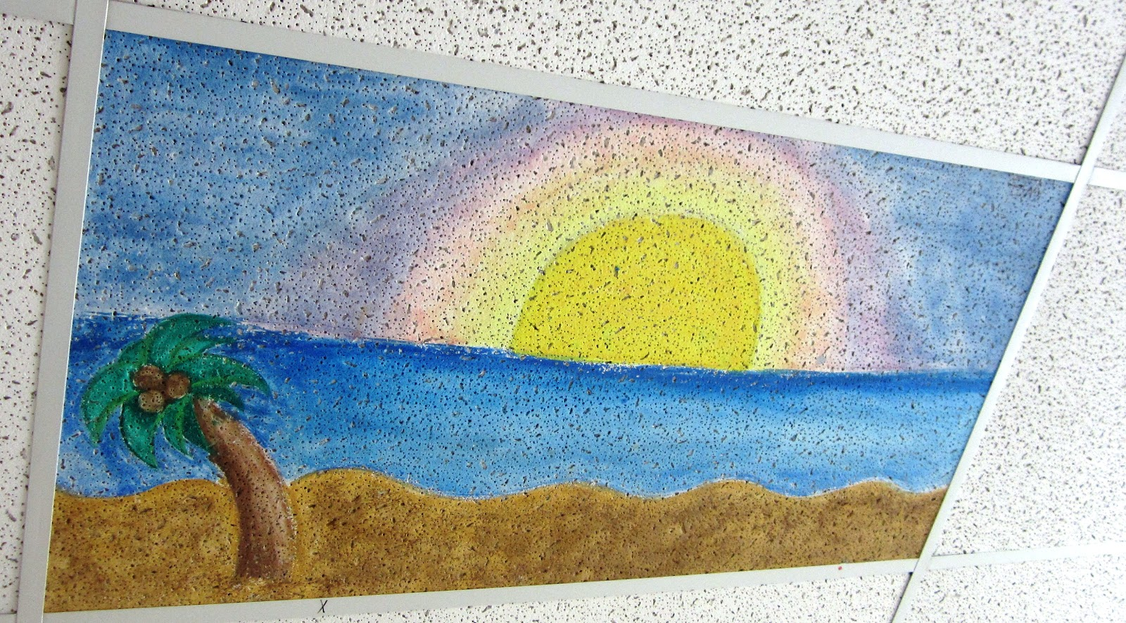 Ceiling tile art customize your classroom i want to be a super ceiling tile art customize your classroom dailygadgetfo Images