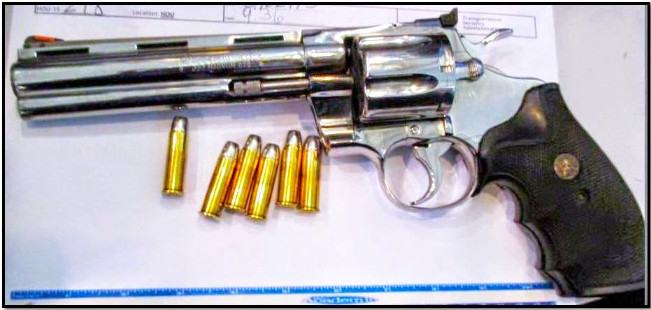 This loaded firearm was discovered in a carry-on bag at HOU.