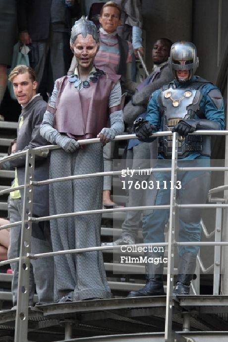 Guardianes de la Galaxia: primeras imágenes del rodaje