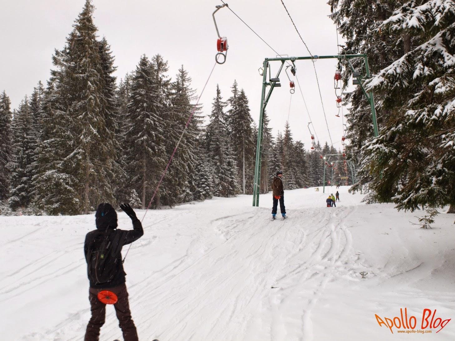 Partia de schi Pasul Bucin