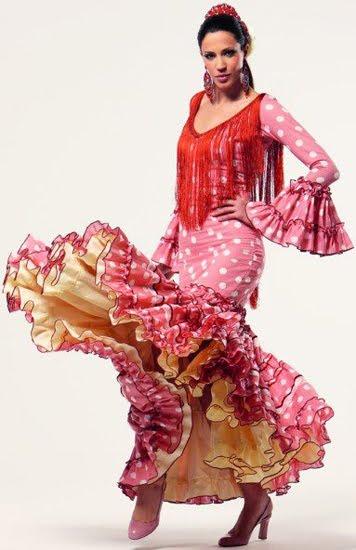 trajes de flamenca El Corte Inglés 2012