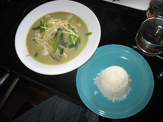 Green Curry thai style