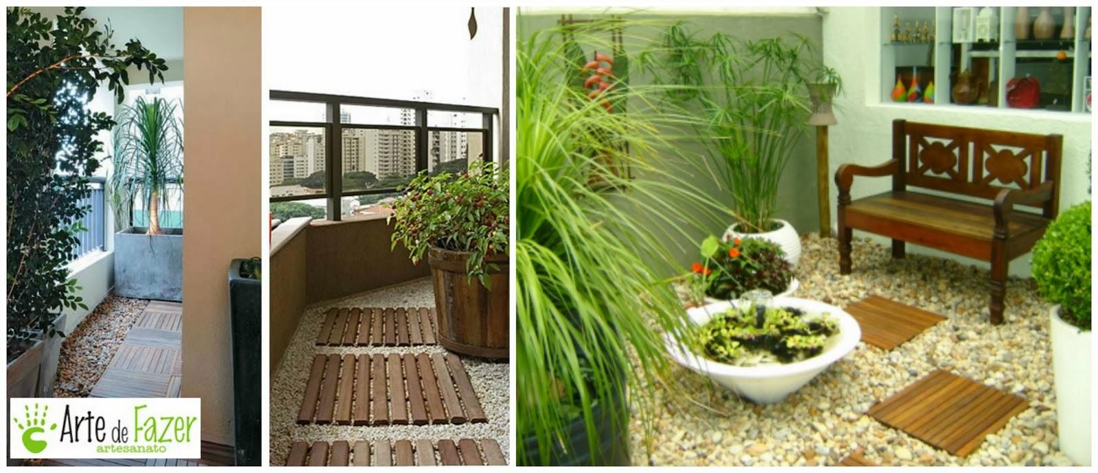 Ambiente acolhedor na varanda