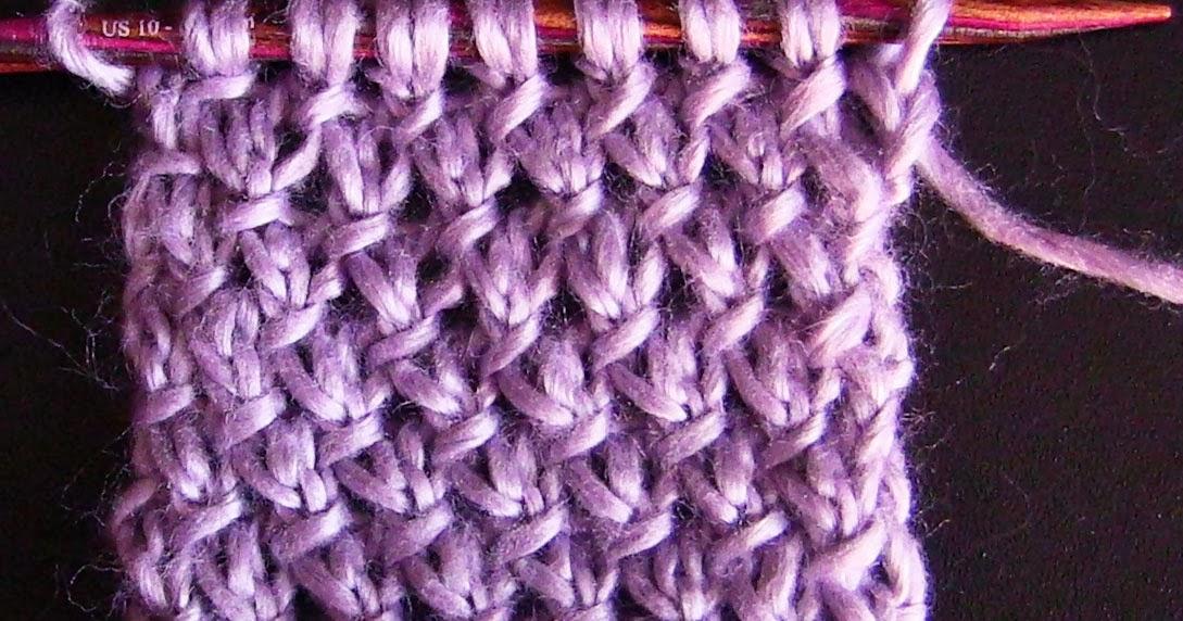 Purl Twist Stitch The Weekly Stitch