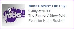 Nairn Rocks Sat 9th July