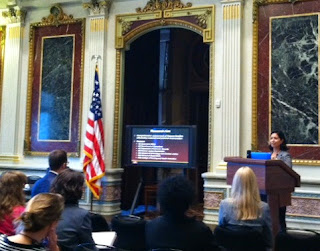 Dr. Rodriguez spoke at a White House conference on children of incarcerated parents.