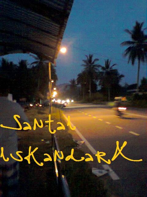 Santai iskandarX, santai, Flat ijau, balik pulau,
