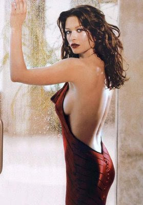 Catherine Zeta Jones boobs