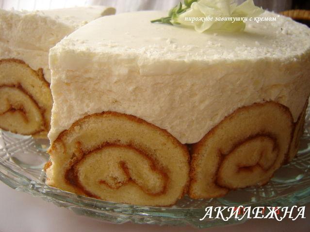 Торт из заварных пирожных фото