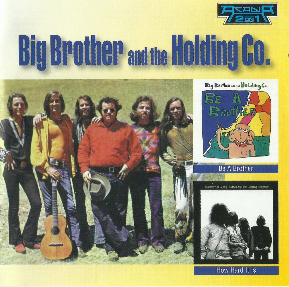 Big Brother The Holding Company Big Brother And The Holding Company Featuring Janis Joplin
