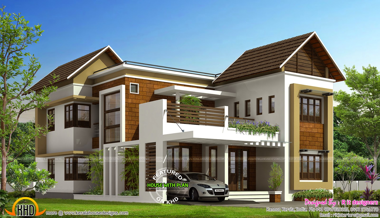 March 2015 kerala home design and floor plans for New house plans